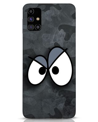 Shop Angry Camo Samsung Galaxy M31s Mobile Cover-Front