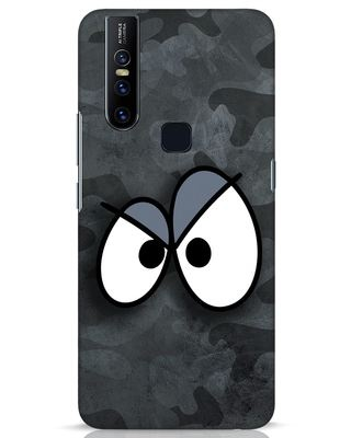 Shop Angry Camo Vivo V15 Mobile Cover-Front