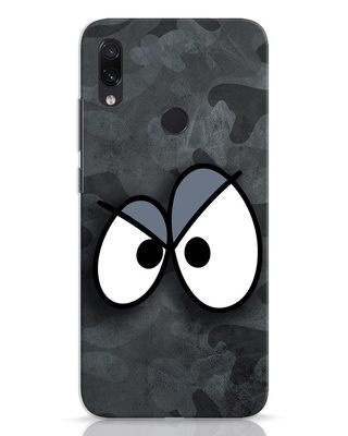 Shop Angry Camo Xiaomi Redmi Note 7 Mobile Cover-Front