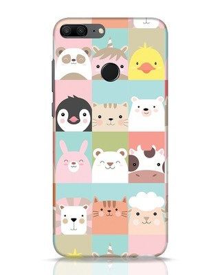Shop Animal Farm Huawei Honor 9 Lite Mobile Cover-Front