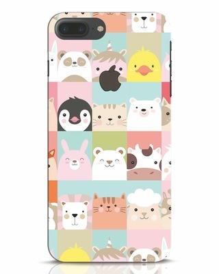 Shop Animal Farm iPhone 7 Plus Logo Cut Mobile Cover-Front