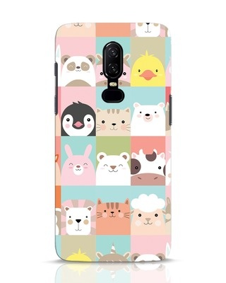 Shop Animal Farm OnePlus 6 Mobile Cover-Front