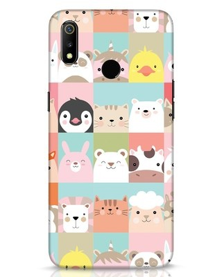 Shop Animal Farm Realme 3 Mobile Cover-Front