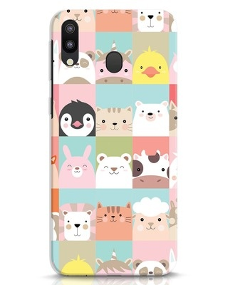 Shop Animal Farm Samsung Galaxy M20 Mobile Cover-Front