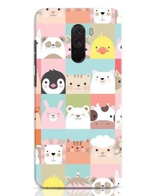 Shop Animal Farm Xiaomi POCO F1 Mobile Cover-Front