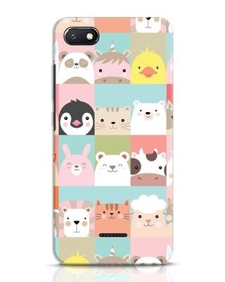 Shop Animal Farm Xiaomi Redmi 6A Mobile Cover-Front