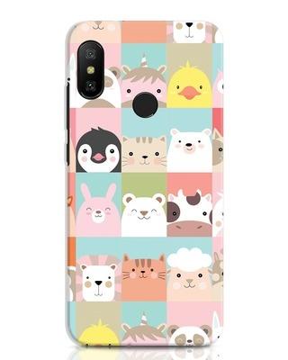 Shop Animal Farm Xiaomi Redmi Note 6 Pro Mobile Cover-Front