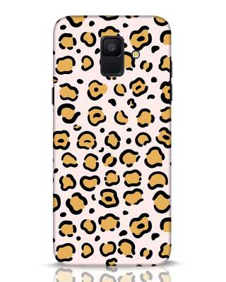 Shop Animal Pattern Samsung Galaxy A6 2018 Mobile Cover-Front