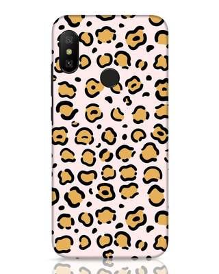 Shop Animal Pattern Xiaomi Redmi 6 Pro Mobile Cover-Front