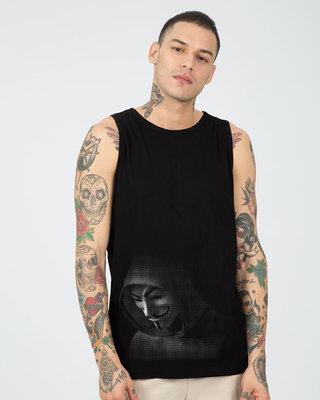 Shop Anonymous Hood Vest-Front