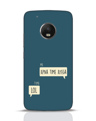 Shop Apna Time Aayega Lol Moto G5 Plus Mobile Cover-Front