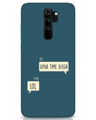 Shop Apna Time Aayega Lol Xiaomi Redmi Note 8 Pro Mobile Cover-Front