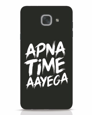 white_stub Shop Apna Time Samsung Galaxy J7 Max Mobile Cover-Front