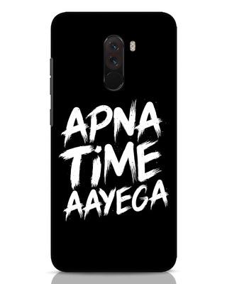 Shop Apna Time Xiaomi POCO F1 Mobile Cover-Front