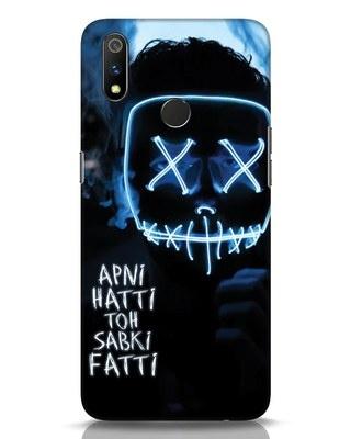 Shop Apni Hatti Toh Sabki Fatti Realme 3 Pro Mobile Cover-Front
