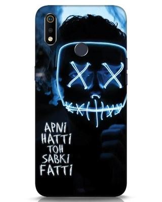Shop Apni Hatti Toh Sabki Fatti Realme 3i Mobile Cover-Front