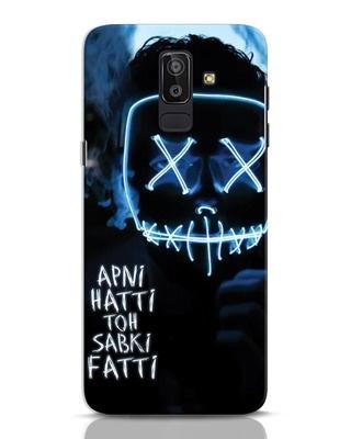 Shop Apni Hatti Toh Sabki Fatti Samsung Galaxy J8 Mobile Cover-Front