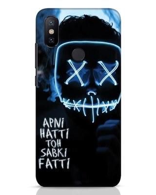 Shop Apni Hatti Toh Sabki Fatti Xiaomi Mi A2 Mobile Cover-Front