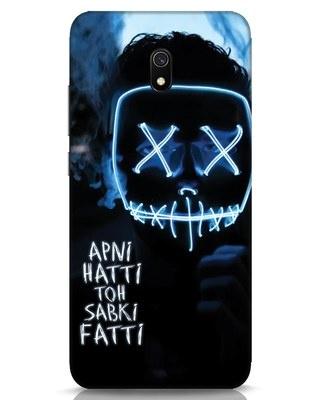 Shop Apni Hatti Toh Sabki Fatti Xiaomi Redmi 8A Mobile Cover-Front