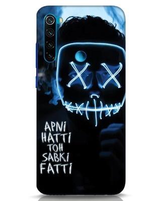 Shop Apni Hatti Toh Sabki Fatti Xiaomi Redmi Note 8 Mobile Cover-Front