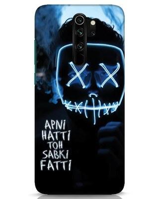 Shop Apni Hatti Toh Sabki Fatti Xiaomi Redmi Note 8 Pro Mobile Cover-Front