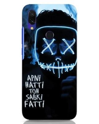 Shop Apni Hatti Toh Sabki Fatti Xiaomi Redmi Y3 Mobile Cover-Front