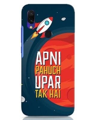 Shop Apni Pahuch Upar Tak Hai Xiaomi Redmi Y3 Mobile Cover-Front