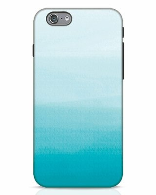 Shop Aqua iPhone 6 Mobile Cover-Front
