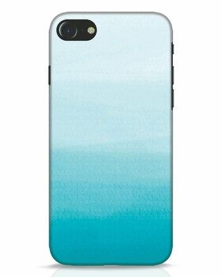 Shop Aqua iPhone 7 Mobile Cover-Front
