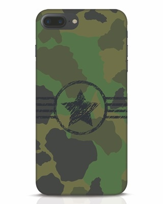 Shop Army iPhone 7 Plus Mobile Cover-Front
