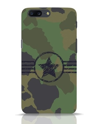 Shop Army OnePlus 5 Mobile Cover-Front
