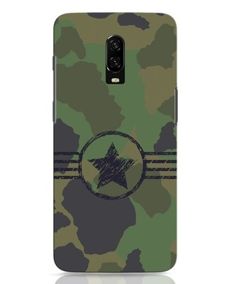 Shop Army OnePlus 6T Mobile Cover-Front