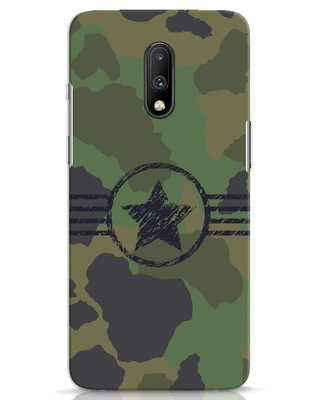 Shop Army OnePlus 7 Mobile Cover-Front