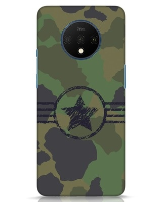 Shop Army OnePlus 7T Mobile Cover-Front
