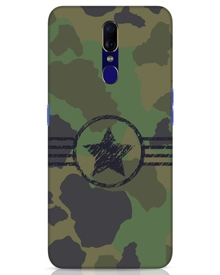 Shop Army Oppo F11 Mobile Cover-Front