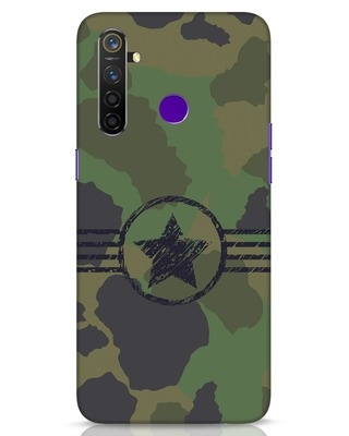 Shop Army Realme 5 Pro Mobile Cover-Front