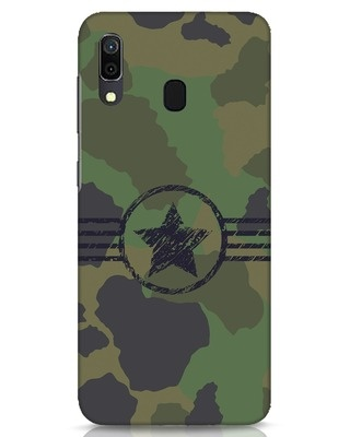 Shop Army Samsung Galaxy A30 Mobile Cover-Front
