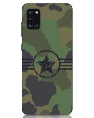 Shop Army Samsung Galaxy A31 Mobile Cover-Front