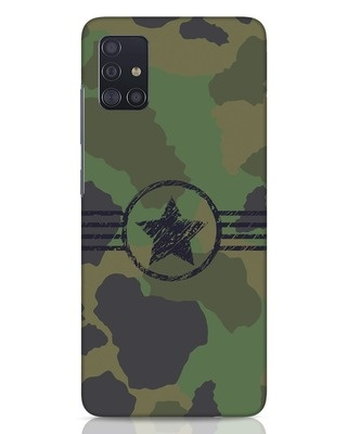 Shop Army Samsung Galaxy A51 Mobile Cover-Front