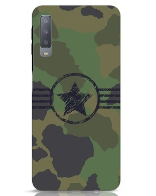 Shop Army Samsung Galaxy A7 Mobile Cover-Front