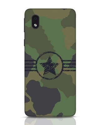 Shop Army Samsung Galaxy M01 Mobile Cover-Front