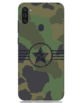 Shop Army Samsung Galaxy M11 Mobile Cover-Front