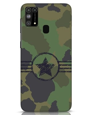 Shop Army Samsung Galaxy M31 Mobile Cover-Front