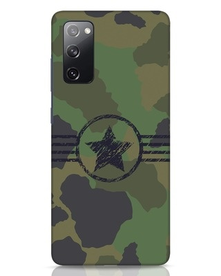 Shop Army Samsung Galaxy S20 FE Mobile Cover-Front