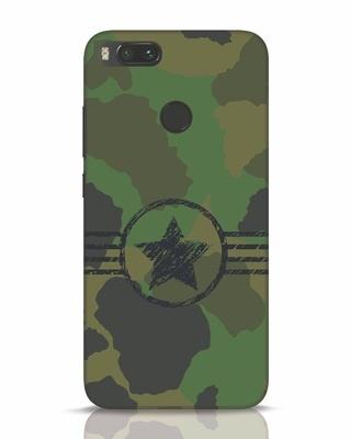 Shop Army Xiaomi Mi A1 Mobile Cover-Front
