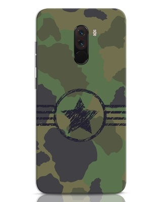 Shop Army Xiaomi POCO F1 Mobile Cover-Front