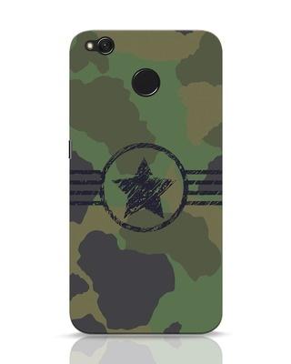 Shop Army Xiaomi Redmi 4 Mobile Cover-Front