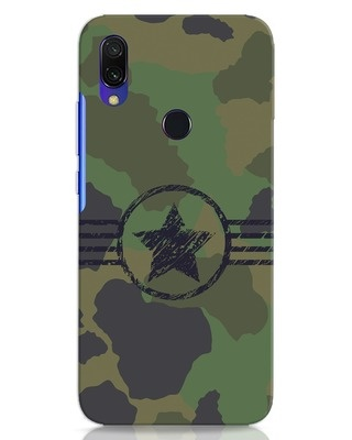 Shop Army Xiaomi Redmi 7 Mobile Cover-Front