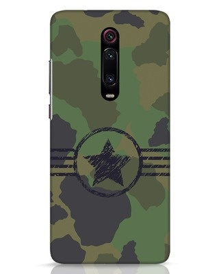 Shop Army Xiaomi Redmi K20 Mobile Cover-Front