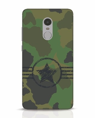Shop Army Xiaomi Redmi Note 4 Mobile Cover-Front